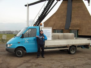 Vrachtauto Visserij Service Nederland